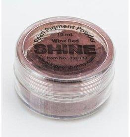 Shine pearl pigment powder Wine red