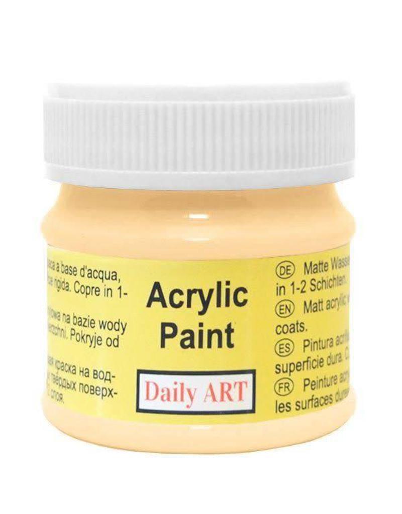 Daily Art acrylic paint jar 50 ml Buff
