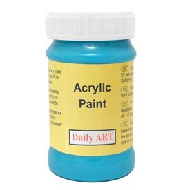 Daily Art acrylic paint jar 50 ml Calypso Blue