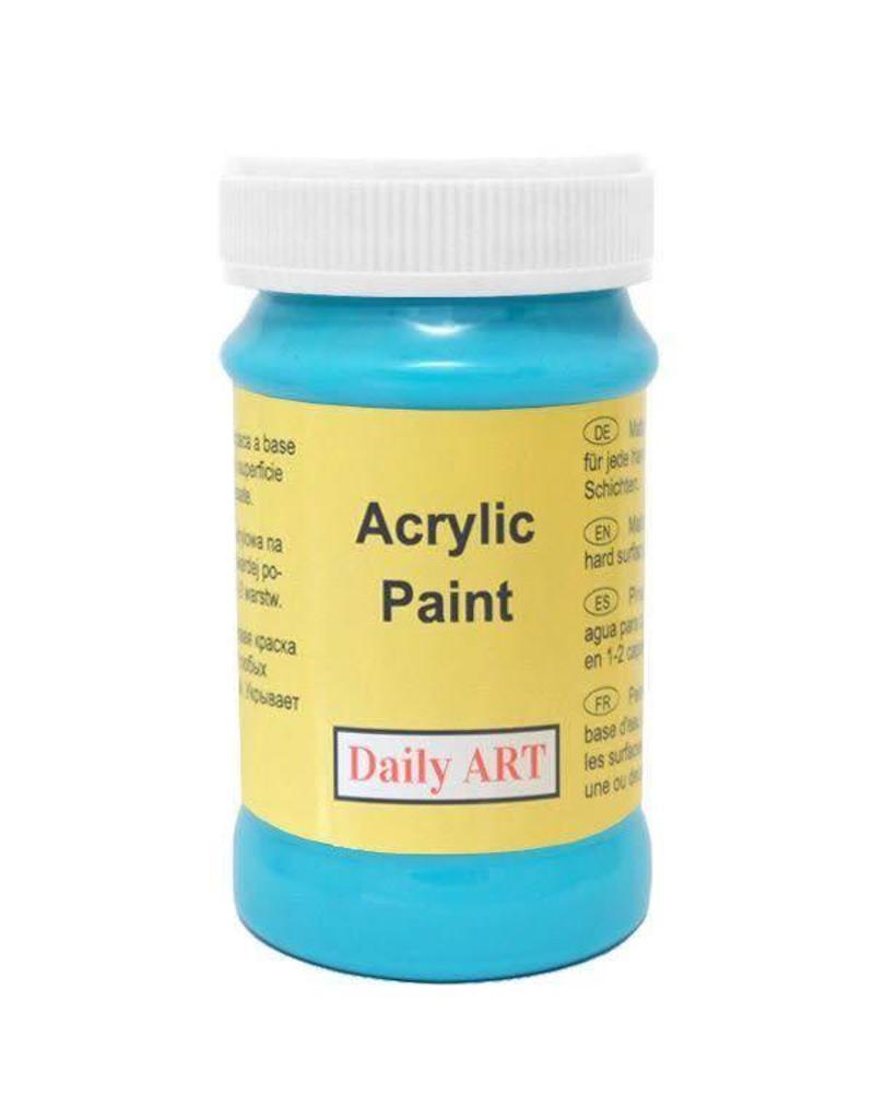 Daily Art acrylic paint jar 50 ml Blue Turquoise
