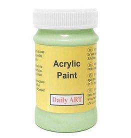 Daily Art acrylic paint jar 50 ml Pale Green