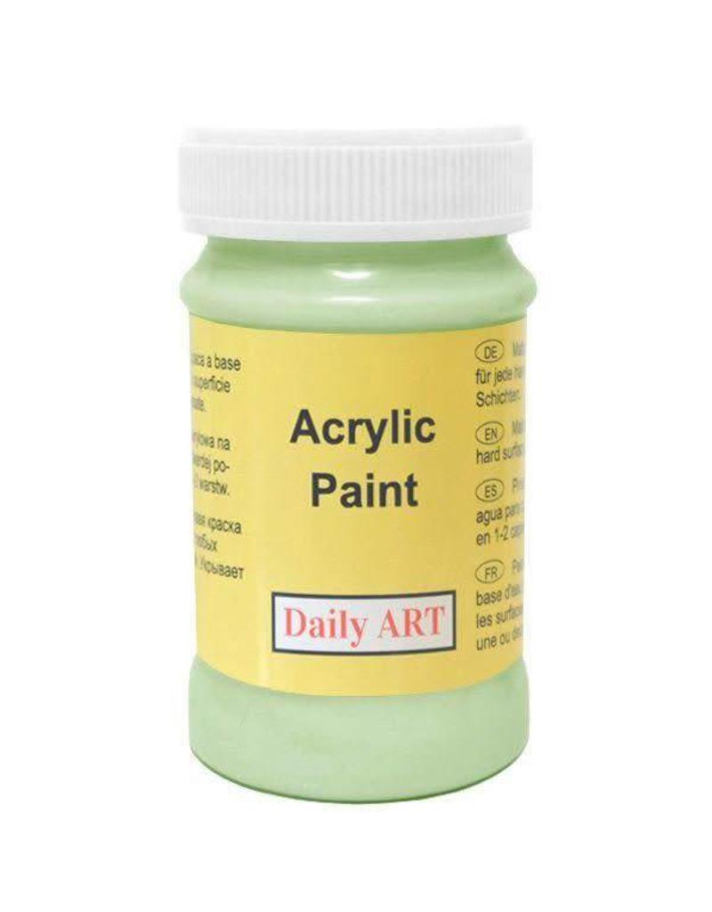 Daily Art acrylic paint jar 50 ml Pale Green