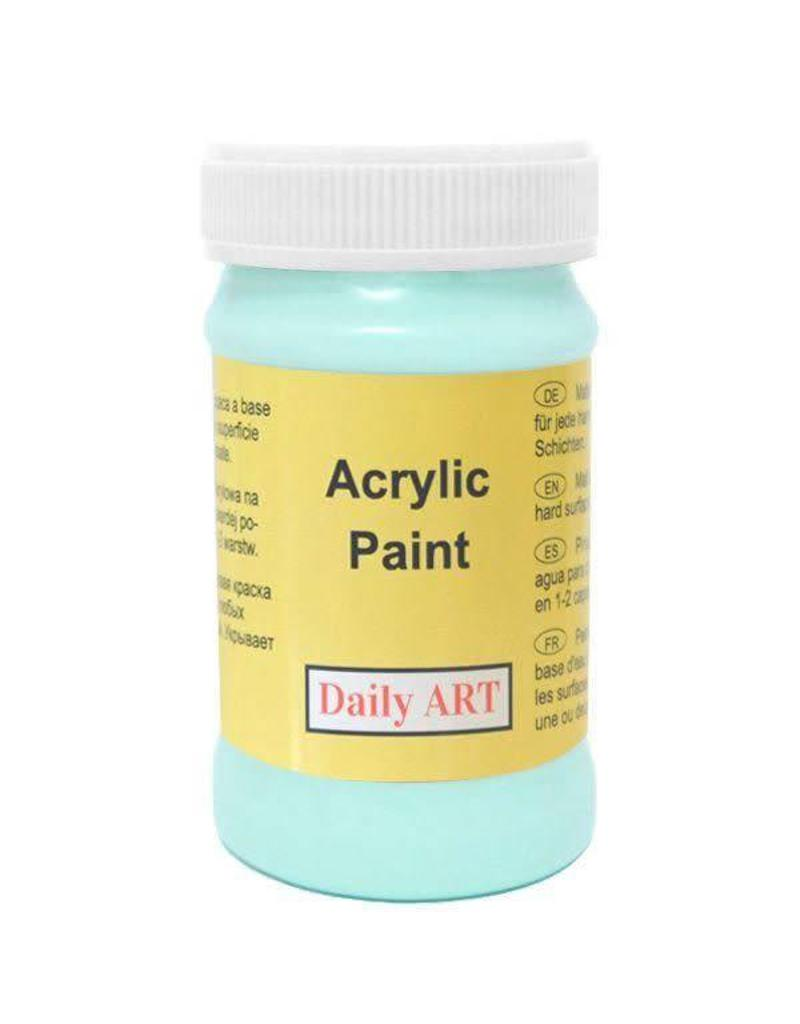 Daily Art acrylic paint jar 50 ml Mint