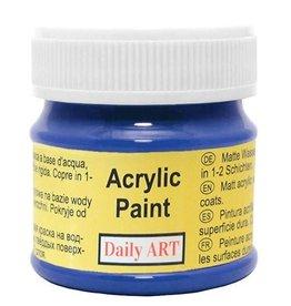 Daily Art acrylic paint jar 50 ml Navy Blue
