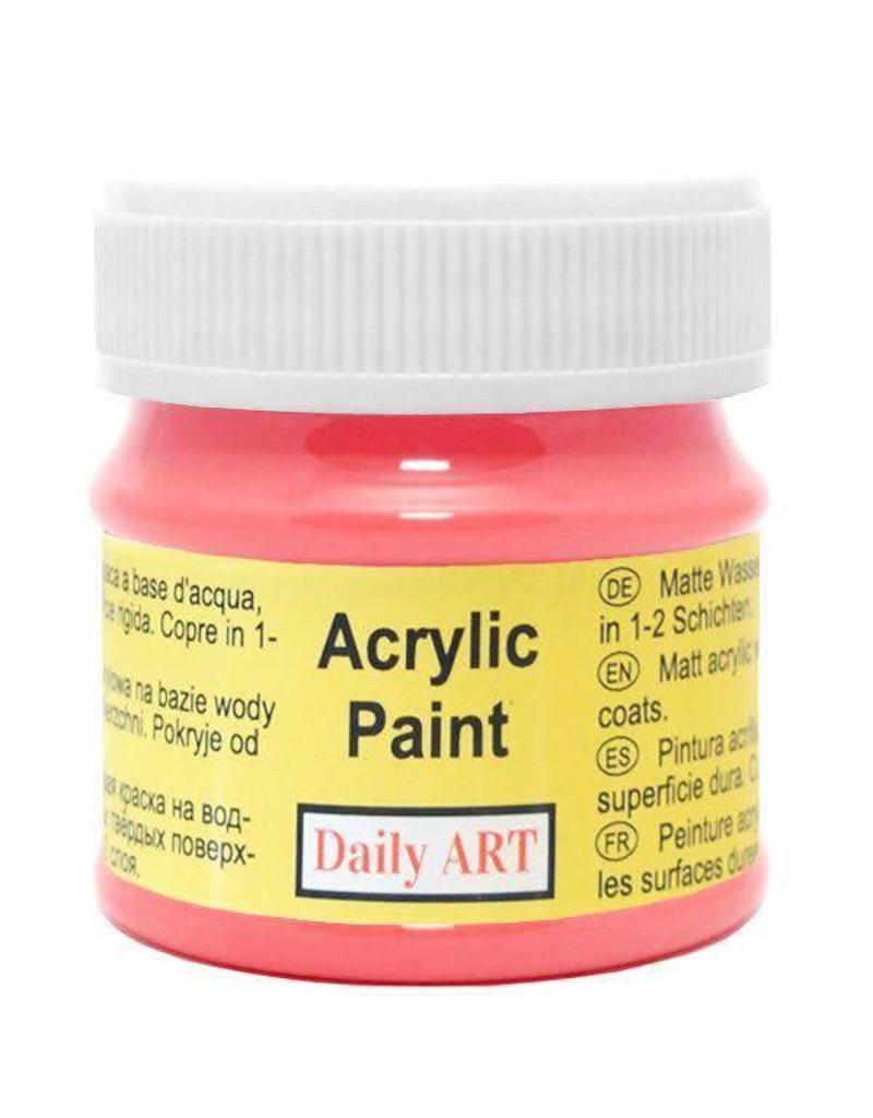 Daily Art acrylic paint jar 50 ml Amaranth