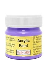 Daily Art acrylic paint jar 50 ml Iris