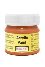 Daily Art acrylic paint jar 50 ml Cinamon