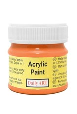 Daily Art acrylic paint jar 50 ml Pumpkin