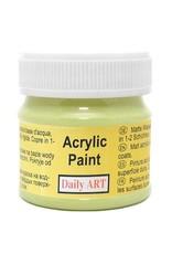 Daily Art acrylic paint jar 50 ml Pistachio