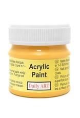 Daily Art acrylic paint jar 50 ml Saffron