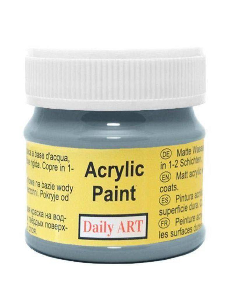Daily Art acrylic paint jar 50 ml Slate Grey