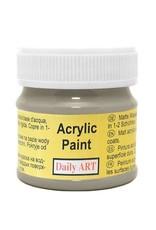Daily Art acrylic paint jar 50 ml Dove Grey