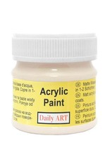 Daily Art acrylic paint jar 50 ml Flower White