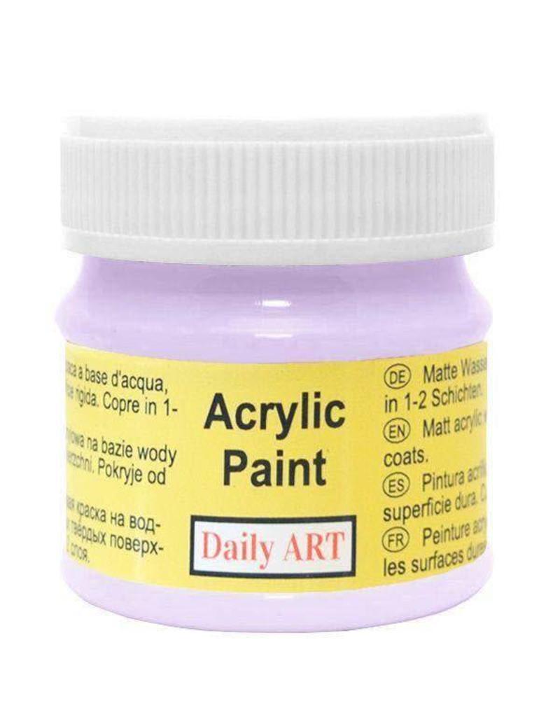 Daily Art acrylic paint jar 50 ml Light Violet