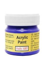 Daily Art acrylic paint jar 50 ml Ultramarine
