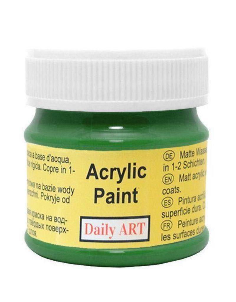 Daily Art acrylic paint jar 50 ml Green