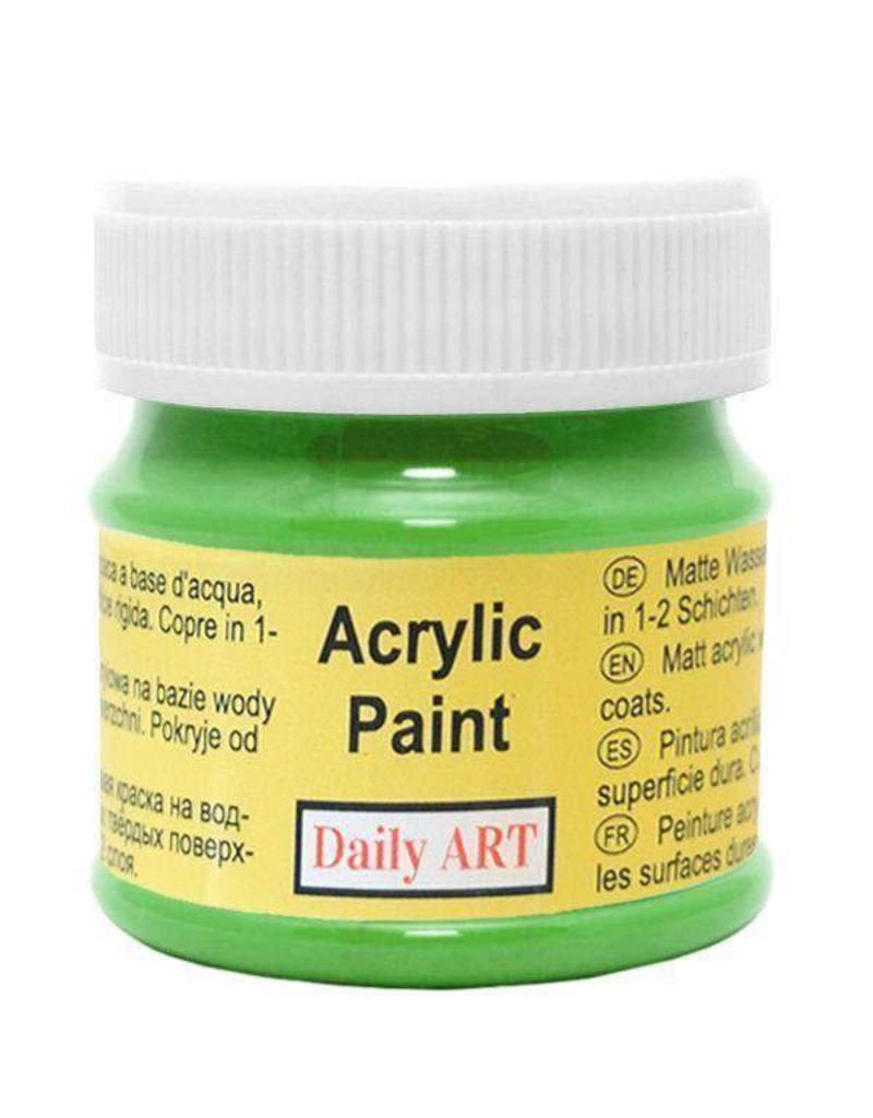 Daily Art acrylic paint jar 50 ml Leaf Green