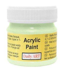 Daily Art acrylic paint jar 50 ml Light green