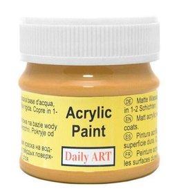 Daily Art acrylic paint jar 50 ml Ochre