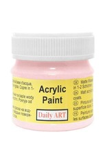 Daily Art acrylic paint jar 50 ml Pink