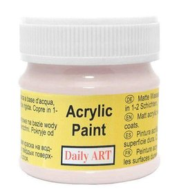 Daily Art acrylic paint jar 50 ml Cappucino