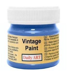 Daily Art Vintage Paint jar 50 ml Deep Blue