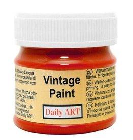 Daily Art Vintage Paint jar 50 ml Deep Red