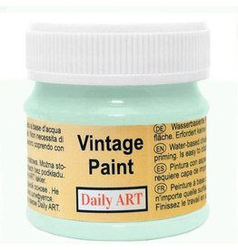 Daily Art Vintage Paint jar 50 ml Aqua