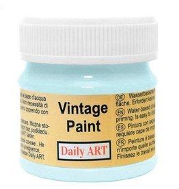 Daily Art Vintage Paint jar 50 ml Pastel Blue