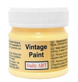 Daily Art Vintage Paint jar 50 ml Pastel Yellow