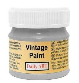 Daily Art Vintage Paint jar 50 ml Silver Grey
