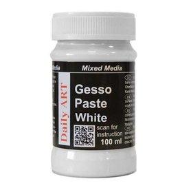 Daily Art Gesso Paste white jar 100 ml