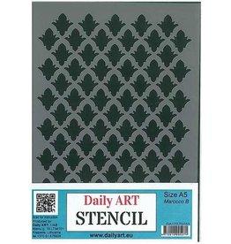 Daily Art mask stencil Marocco B A5