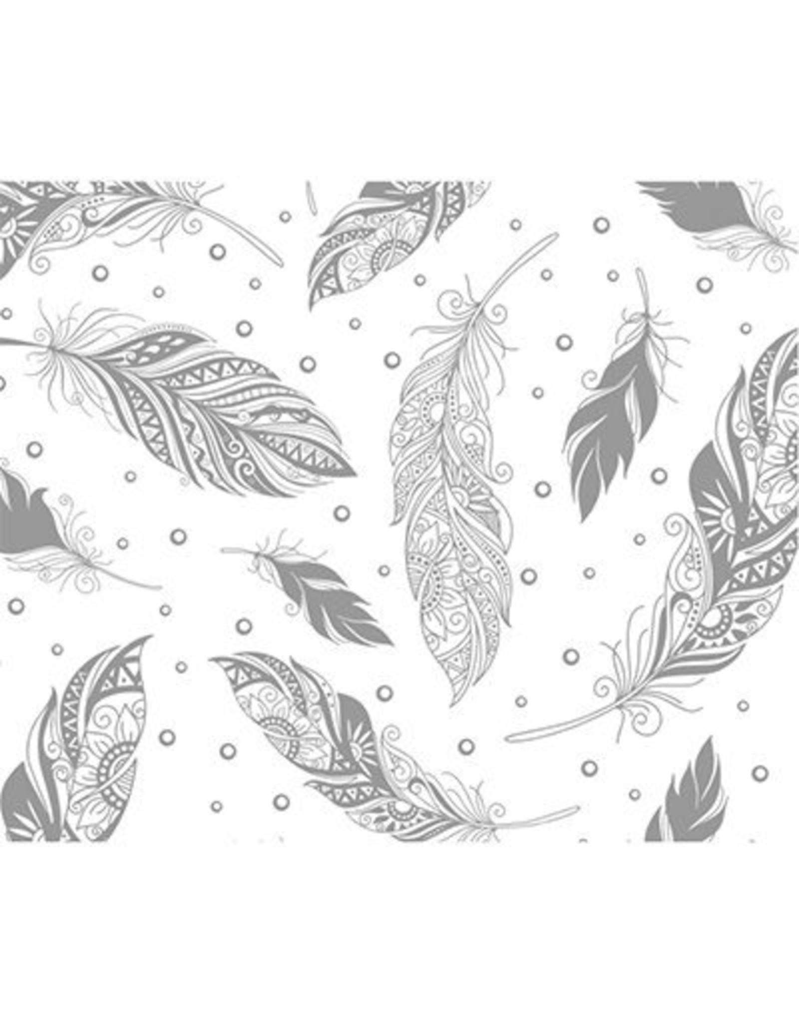 Magic Paper, Feathers,23x33cm, Ursus, per vel