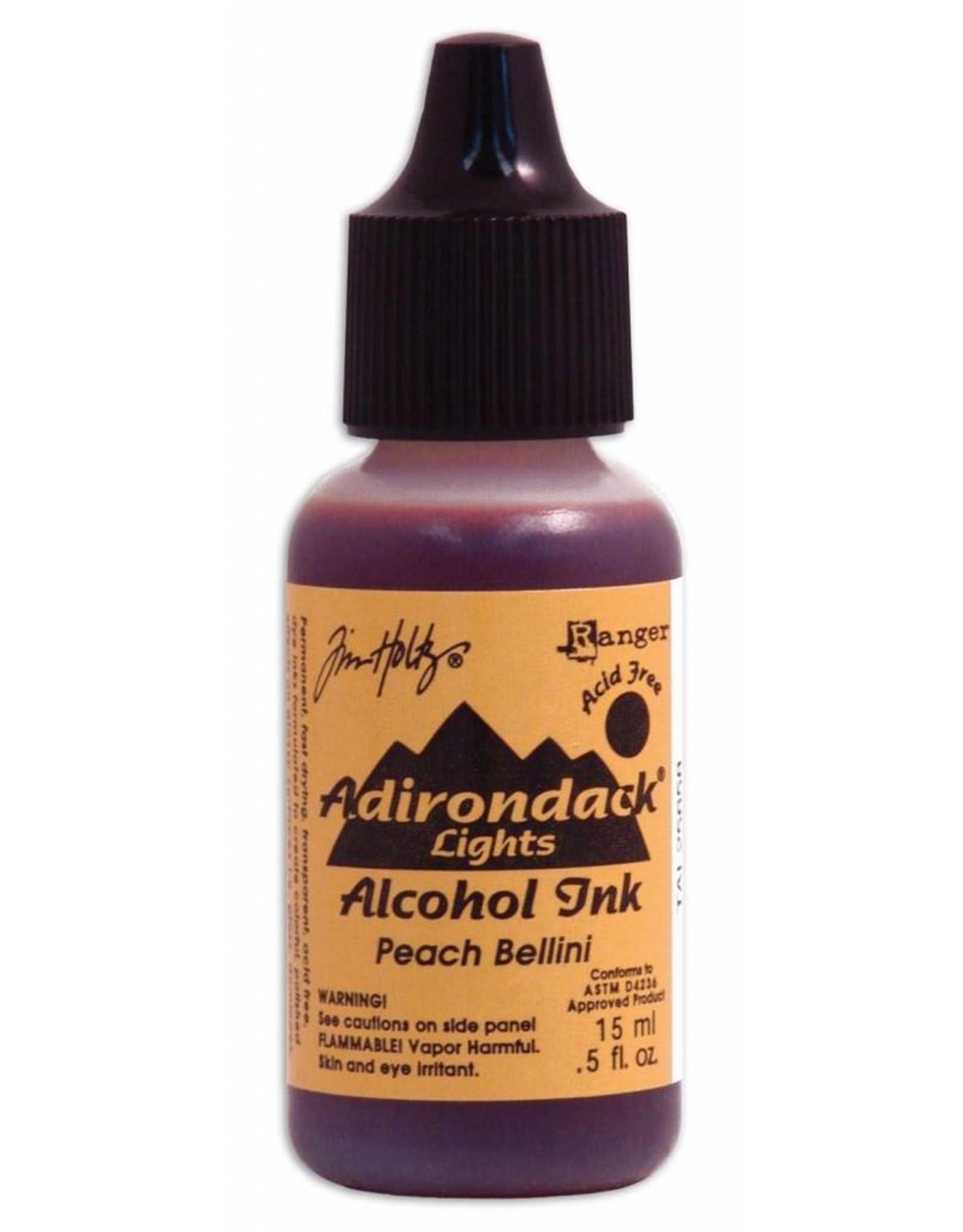Adirondack Adirondack alcohol ink open stock lights peach bellini