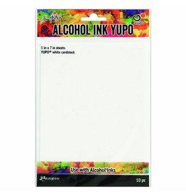 Ranger Ranger alcohol ink yupo paper x10 white