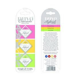 Nuvo ink pads Nuvo Diamond hybrid ink pads - tropical fruits 80N