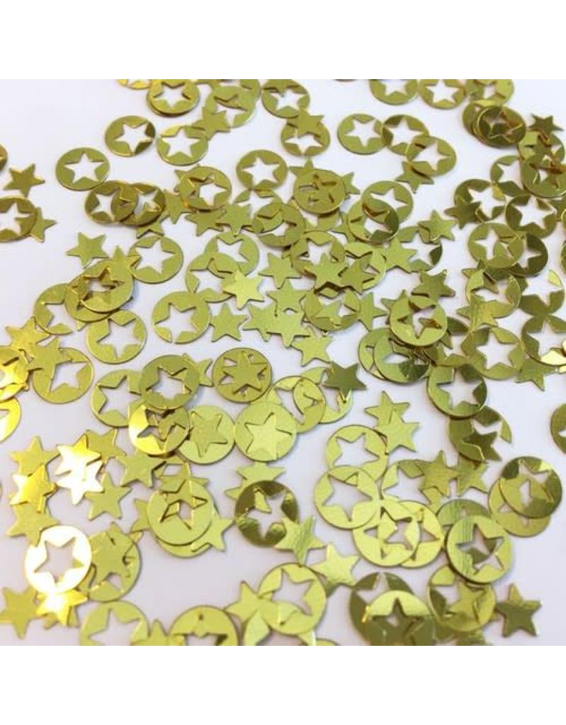 Confetti ster goud 10gr 12421-2105