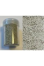 Mini pearls (zonder gat) 0,8-1,0mm zilver 22 gram