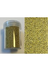 Mini pearls (zonder gat) 0,8-1,0mm goud 22 gram