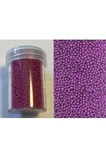 Mini pearls (zonder gat) 0,8-1,0mm violet 22 gram