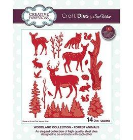 Creative Expressions Creative Expressions dies Forest Animals CED3095