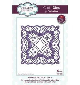 Creative Expressions craft dies Lucy CED4326
