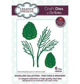 Creative Expressions Creative Expressions Pine cone and greenery CED3103