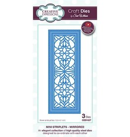 Creative Expressions craft dies Mirrored CED1627