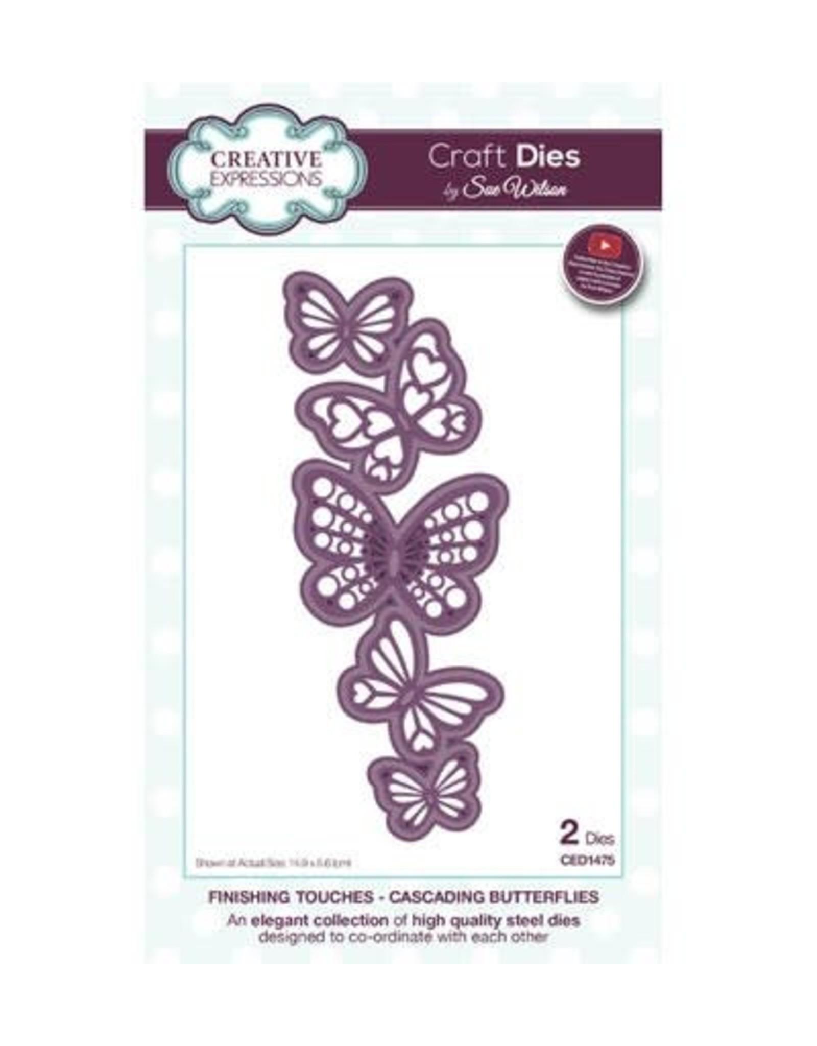 Creative Expressions Creative Expressions Cascading Butterflies CED1475