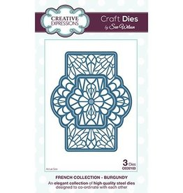 Creative Expressions Creative Expressions French collection Burgundy CED 2103