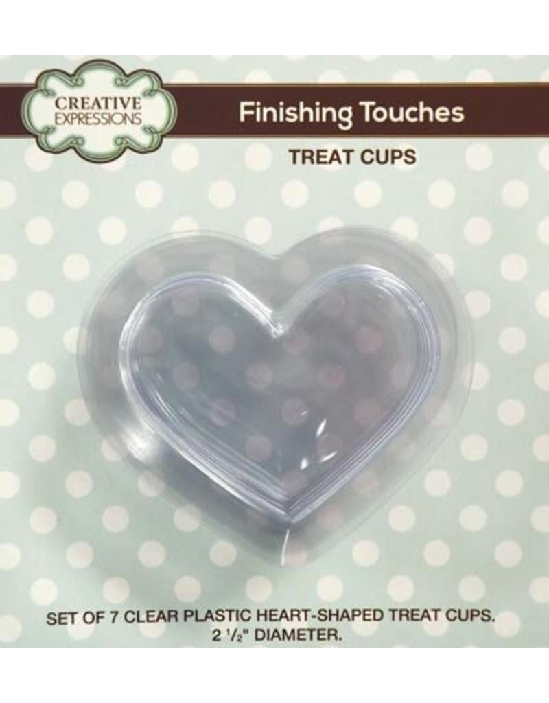 Creative Expressions treatcups heart CETREATHEART