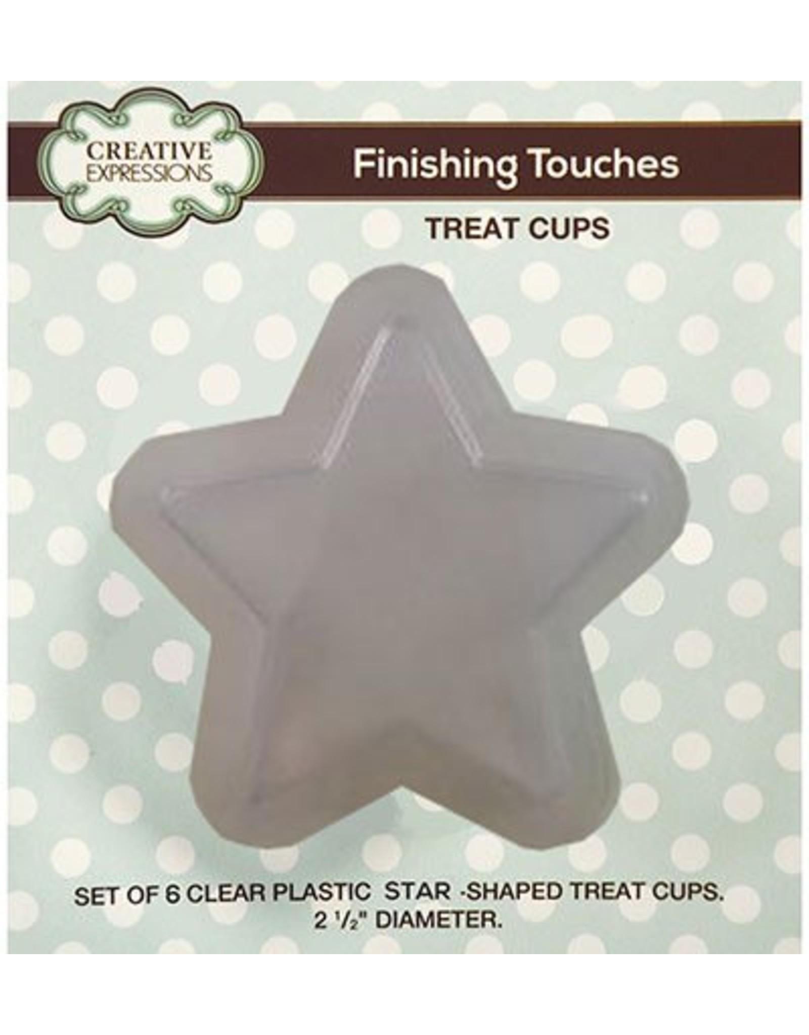 Creative Expressions star treat cups (5 stuks) CETREATSTAR
