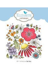 Elizabeth Craft Designs Elizabeth Craft Designs stamps Floral Background CS087